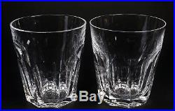 Set Of 2 Signed Waterford Crystal Old Fashioned Tumblers Sheila Pattern