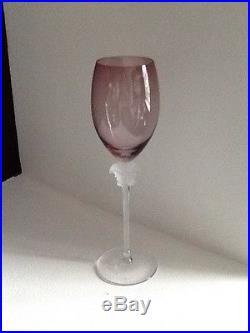 Set Of 4 VERSACE MEDUSA WINE GLASSES. ROSENTHAL 10 1/4