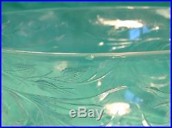 Set Of 6 Antique ABP Brilliant Period Cut Glass Rock Crystal Hawkes Finger Bowls