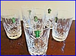 Set Of 6 Waterford Lismore Double Old Fashioned/ Rocks/ High Ball Glasses-nwob