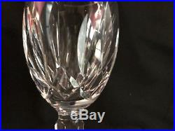 Set Of Six (6) Crystal White Wine Kildare (Cut) by WATERFORD 5 7/8 in Height