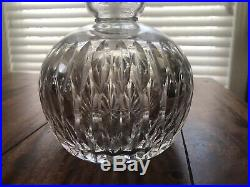 Set Of Two HAWKES Cut-Crystal Carafes 10 Signed Early 1900's Decanters