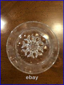 Set of 12 Gorham Diamond Crystal 7 5/8 White Wine Glasses FREE SHIPPING