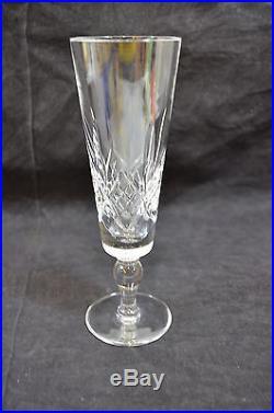 Set of 13 stuart glengarry crystal wine champagne flutes w short stem 1092 3 crystal - Short stemmed wine glass ...