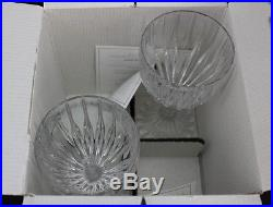 Set of 14 MIKASA Crystal Park Lane Pattern 6 3/8 Wine Glass Goblets NIB BKP NR