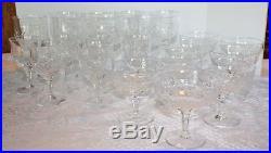 Set of 22 Herend Crystal glasses Wine Water Dessert Juice