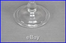 Set of 3 Royal Leerdam Colonial Williamsburg Crystal Ballaster Form Wines