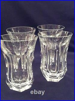 Set of 4 Moser Crystal Highball Glasses