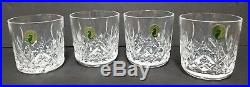 Set of 4 Waterford LISMORE 9 oz Old Fashioned Tumbler New in Box 6003182300