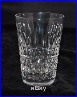 Set of 5 Waterford Crystal Lismore Vodka / Shot Glasses. 3.5H Exc