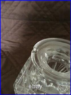 Set of 6 Edinburgh Crystal Star of Edinburgh Whisky Tumblers and Decanter