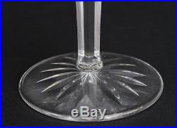 Set of 6 WATERFORD Deep Cut Irish Crystal LISMORE Fluted Champagne Glasses CGS