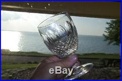 Set of 6 Waterford Crystal Colleen Short Water Goblets, 5-1/8