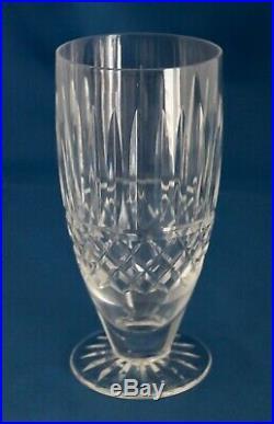 Set of 6 Waterford Crystal Maeve Iced Tea Glasses 6 3/8 Ireland MINT