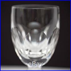 Set of 6 Waterford Kathleen Crystal Claret Wine Glasses 4 7/8