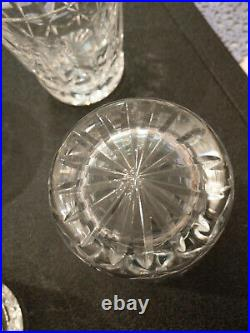 Set of 6 Waterford Lismore Highball Glasses purchased in Ireland in 1982