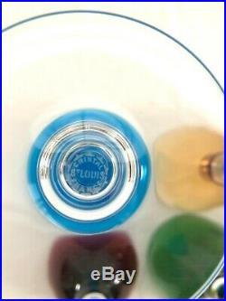 Set of 8 French Crystal, Saint (St) Louis Grand Lieu 9 Hocks, Wine