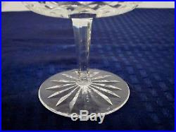 Set of 9 Waterford Crystal Champagne/Sherbet Glasses/Dishes. Lismore. Spotless
