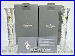 Set of Waterford Crystal Arcade Candlesticks 10 NIB
