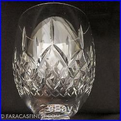 Superb Galway Irish Cut Crystal Red Claret Wine Glasses Goblets X 8 Piece Set