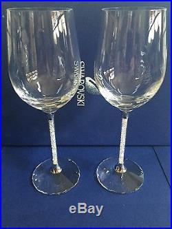 Swarovski Crystal Wine Glasses set of two