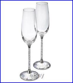 Swarovski Crystalline Toasting Flutes (Set Of 2), Party Wedding Crystal 255678