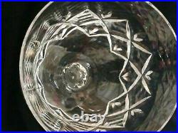 Towle Crystal King Richard Wine Water Goblet Glasses 8 1/2 Tall, Set of 8