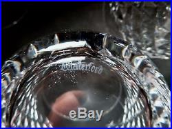 VINTAGE Waterford Crystal ALANA (1952-) Set of 6 Old Fashioned 3 3/8 9 oz
