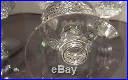 VINTAGE Waterford Crystal COLLEEN (1953-) Set 4 Liquor Cocktail 3 1/2 IRELAND