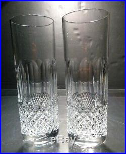 VINTAGE Waterford Crystal COLLEEN (1953-) Set of 2 Tom Collins 7 14oz