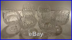 VINTAGE Waterford Crystal COLLEEN (1953-) Set of 6 Brandy Snifter 5 1/4 12 oz