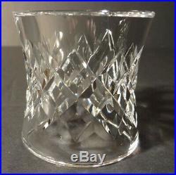 VINTAGE Waterford Crystal COMERAGH (1973-) Set of 8 Round Napkin Rings 2