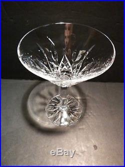 VINTAGE Waterford Crystal LISMORE (1957-) Set of 2 Martini Glasses 6 8 oz