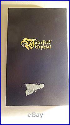VINTAGE Waterford Crystal LISMORE (1957-) Set of 4 Steak Knifes 9 1/4 IRELAND