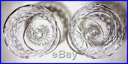 VINTAGE Waterford Crystal POWERSCOURT (1968-) Set 2 Dessert Dish Bowls 4 5/8