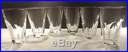 VINTAGE Waterford Crystal SHEILA (1958-) 10 oz Tumbler 4 7/8 Set of 6 glasses