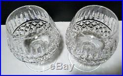 VINTAGE Waterford Crystal TRAMORE / MAEVE (1956-) Set 2 Brandy Snifter 5 1/4