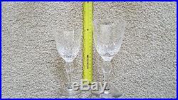 Vintage 1980s Set of 35 Stuart Crystal England glasses Aragon pattern