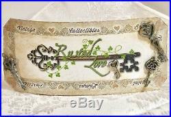 Vintage Brandy Snifters Cut Lead Crystal glasses Bohemian Barware Set of 6 heavy