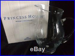 Vintage Princess House Heritage Collection Crystal Beverage Set
