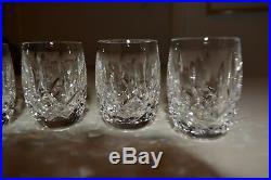 261684a453b Vintage Set of 4 signed WATERFORD Fine Crystal Shot Glasses Lismore Pattern