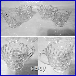 Vintage Set of 50 or more Fostoria American glassware set