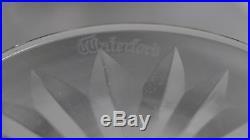 Vintage Set of 6 Waterford Lismore Pattern Crystal Claret Wine Glasses