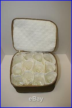 Vintage Stuart (kent) Set Of 36 Crystal 12 Each Champagne, Wine, Goblet Glasses