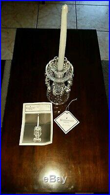 WATERFORD CRYSTAL C1 Set of 2 Candelabra Candle Stick Holders 10