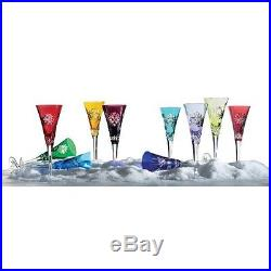 6be7f4c29794 WATERFORD CRYSTAL SNOWFLAKE WISHES PRESTIGE FLUTES SET OF 10 -BRAND NEW IN  BOX