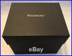WATERFORD CRYSTAL W Collection Color SET OF 2 TUMBLERS Heather Purple NEW IN BOX