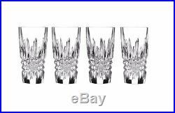 WATERFORD Lismore Diamond Shot Glass Set of 4 #160708 New
