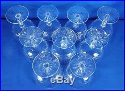 Waterford Crystal 4 1/8 Champagne/Tall Sherbet Glassware Set Of 9