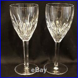 Waterford Crystal Carina Set Of 6 Wine Glasses Marked Mint